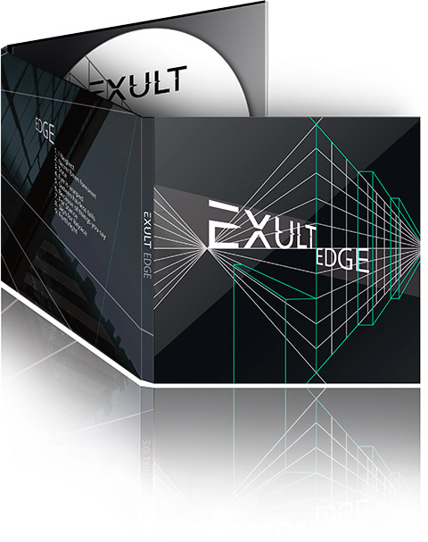 Exult 'Edge', full-length, 2014, Noizr Prods.